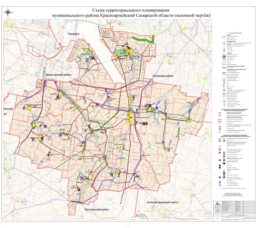 Красноармейский район схема территориального планирования
